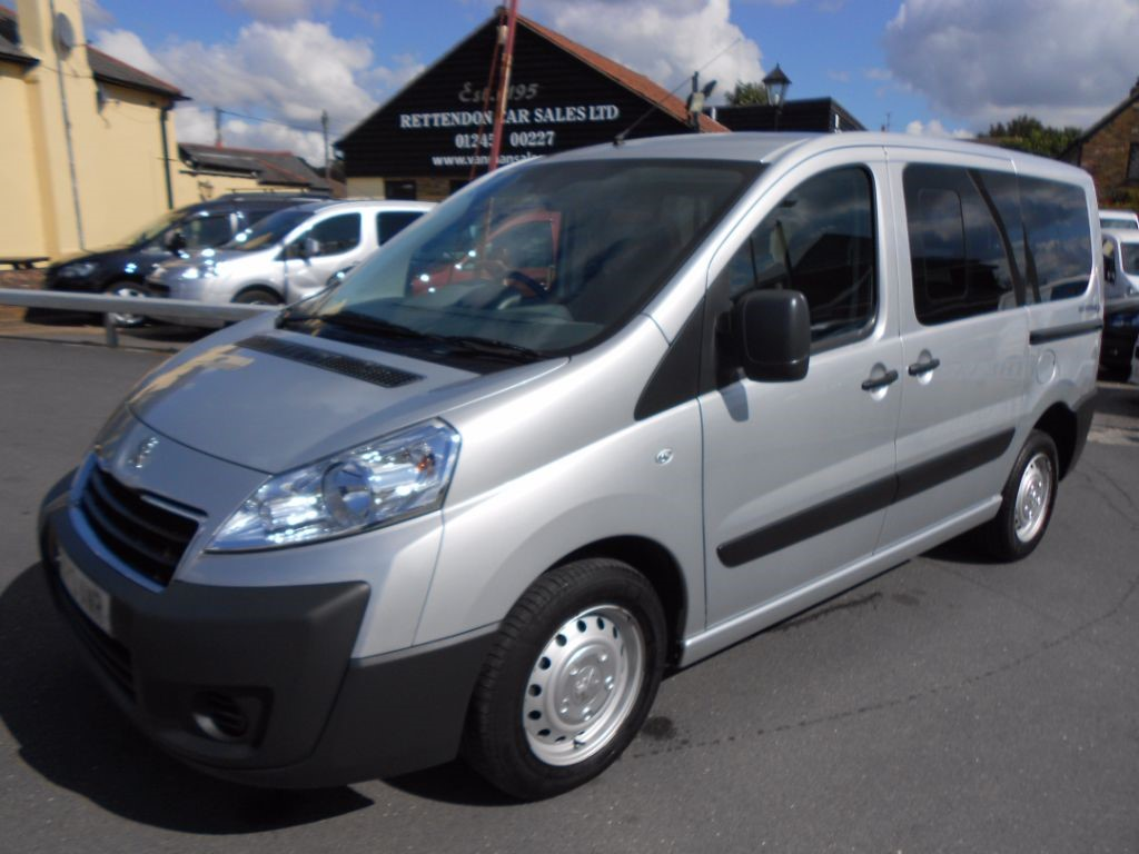 used Peugeot Expert HDI TEPEE COMFORT L1 Diesel WAV * Only 36,000 Miles * in Chelmsford