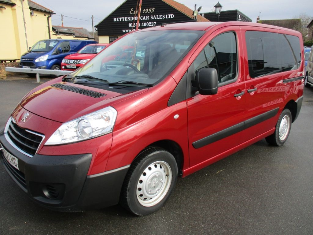 used Peugeot Expert HDI TEPEE COMFORT INDEPENDENCE L1 Diesel WAV * Only 16,000 Miles * in Chelmsford