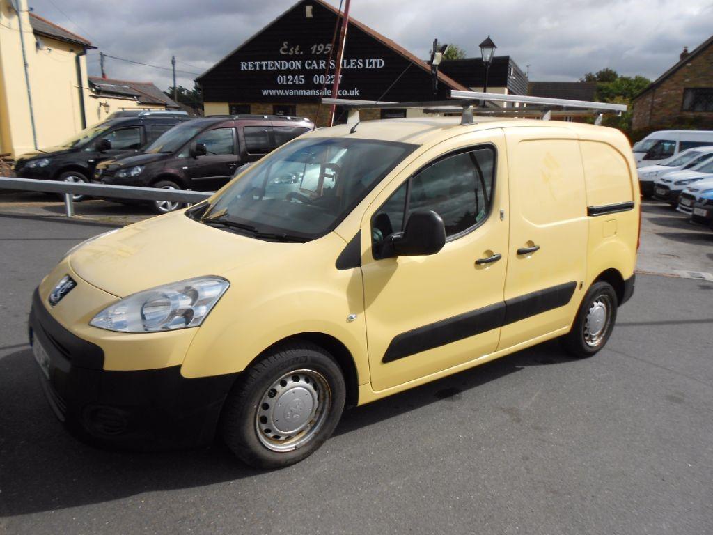 used Peugeot Partner HDI S L1 625 Diesel Van PART EXCHANGE in Chelmsford