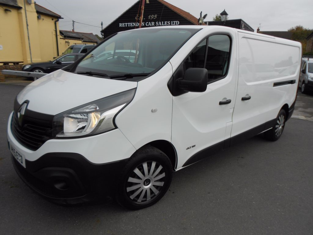 used Renault Trafic LL29 BUSINESS DCI S/R P/V in Chelmsford