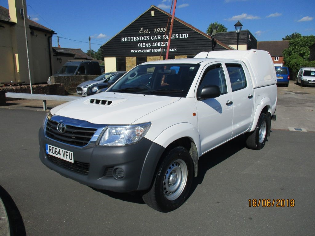 used Toyota  HI-LUX ACTIVE 4X4 D-4D DCB * Only 77K Miles * in Chelmsford
