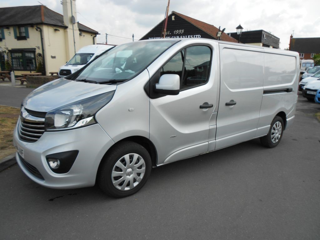 used Vauxhall Vivaro 2900 L2H1 CDTI SPORTIVE ONLY 63K MILES in Chelmsford