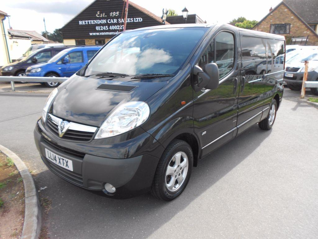 used Vauxhall Vivaro 2900 CDTI SPORTIVE LWB in Chelmsford