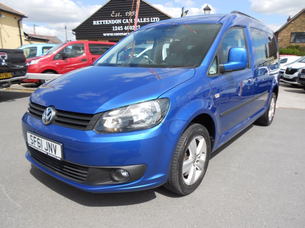 used VW Caddy Maxi C20 LIFE TDI Diesel MPV WAV Only 10K Miles in Chelmsford