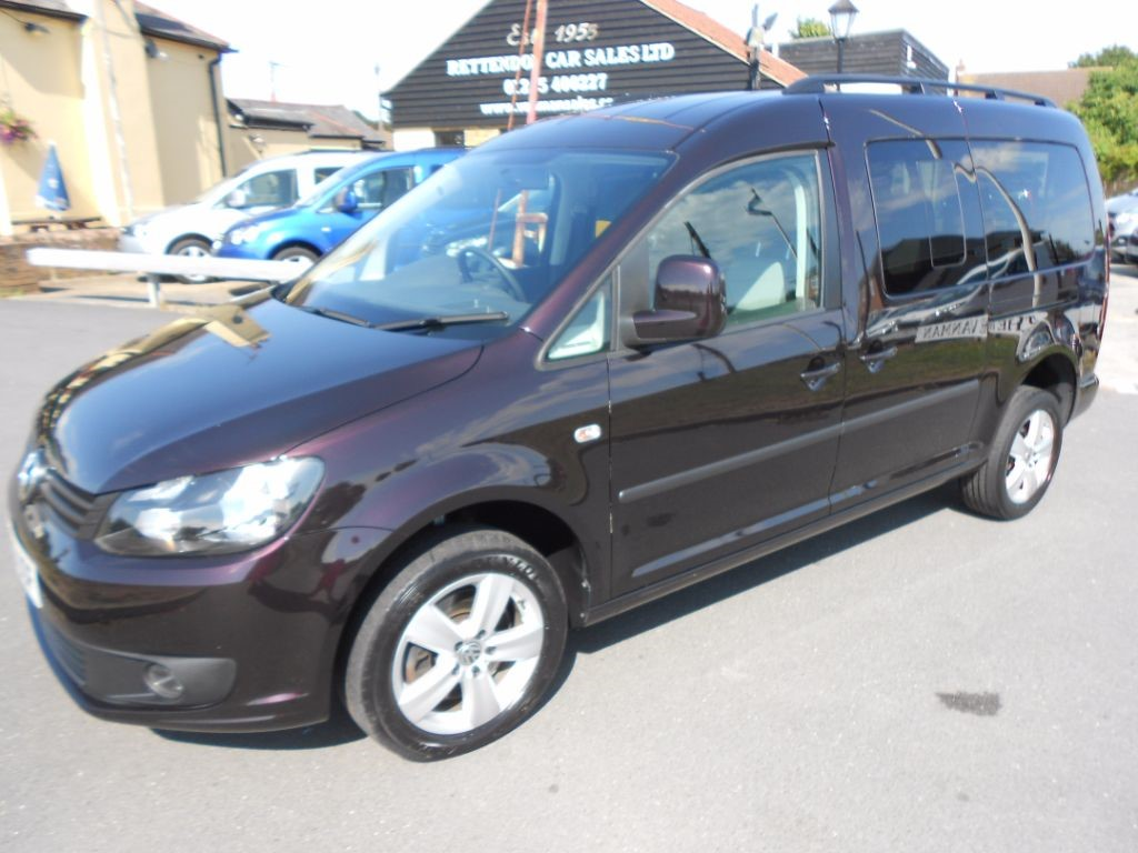used VW Caddy Maxi C20 LIFE TDI AUTOMATIC Diesel MPV WAV * Only 55K Miles * in Chelmsford