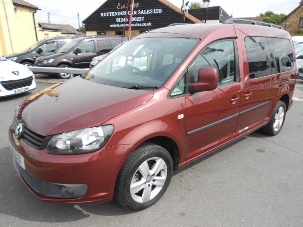 used VW Caddy Maxi C20 LIFE TDI AUTOMATIC Diesel MPV WAV * Only 17K Miles * in Chelmsford