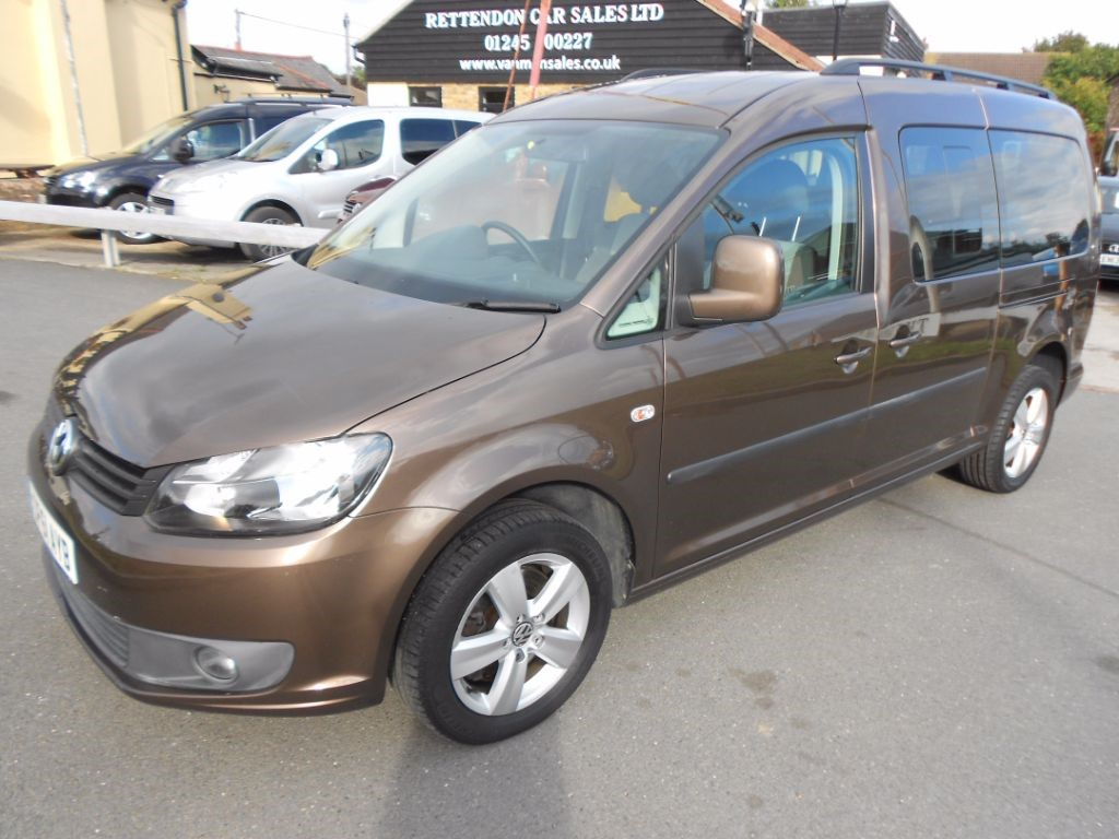 used brown vw caddy maxi for sale essex. Black Bedroom Furniture Sets. Home Design Ideas