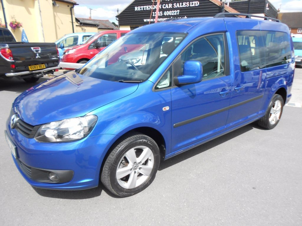 used VW Caddy Maxi C20 LIFE TDI Wheelchair Accessible Vehicle * Only 10K Miles * in Chelmsford