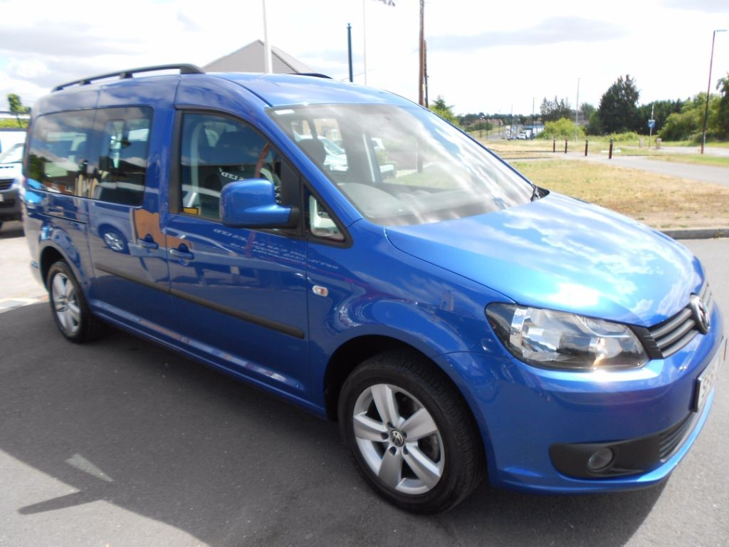 used blue vw caddy maxi for sale essex. Black Bedroom Furniture Sets. Home Design Ideas