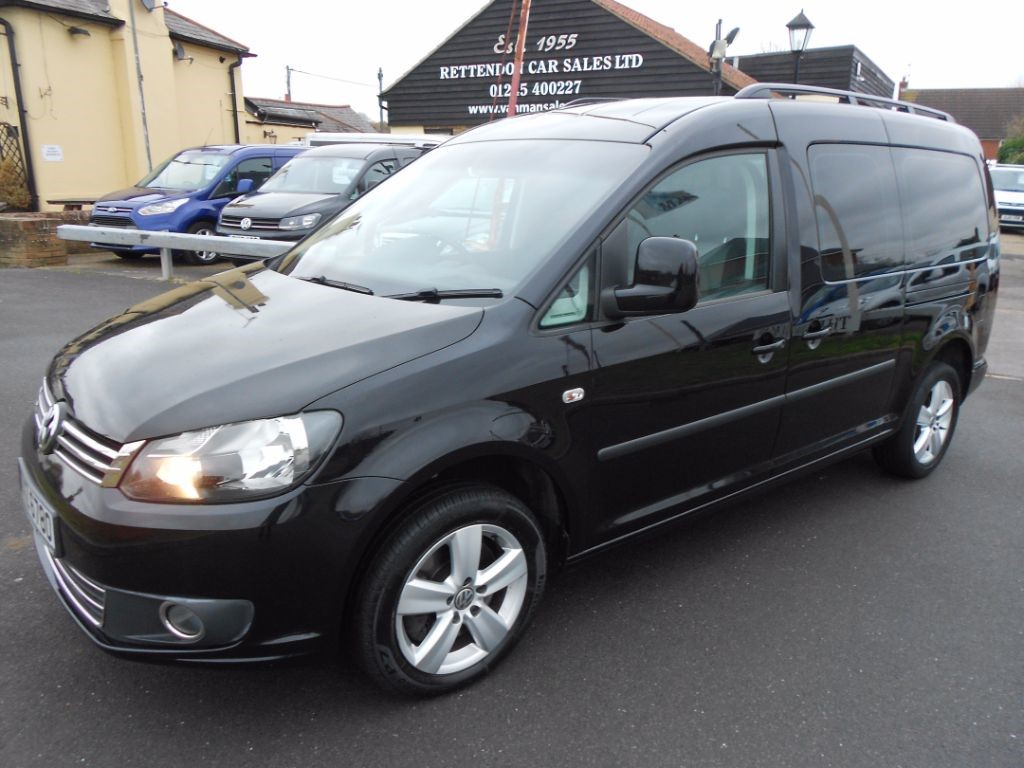 used VW Caddy Maxi C20 LIFE TDI Diesel MPV WAV * Only 36,000 Miles * in Chelmsford