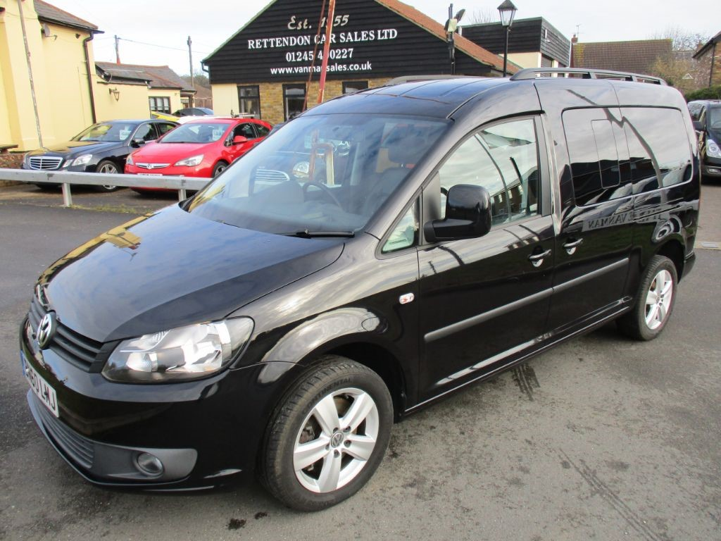 used VW Caddy Maxi C20 LIFE TDI AUTOMATIC Diesel MPV WAV Only 27K Miles in Chelmsford