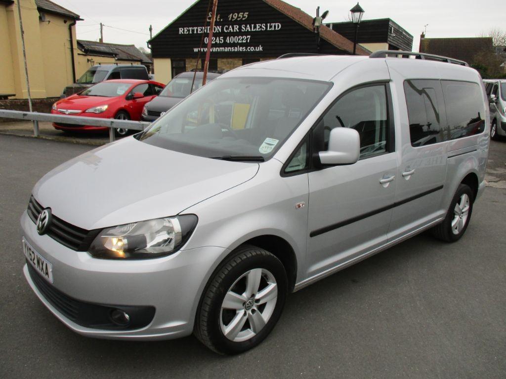 used VW Caddy Maxi C20 LIFE TDI Diesel MPV WAV * Only 30K Miles * in Chelmsford