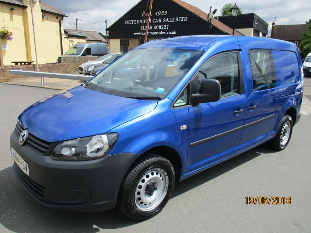 used VW Caddy Maxi C20 TDI KOMBI Crew Van Diesel Van * Only 40K Miles * in Chelmsford