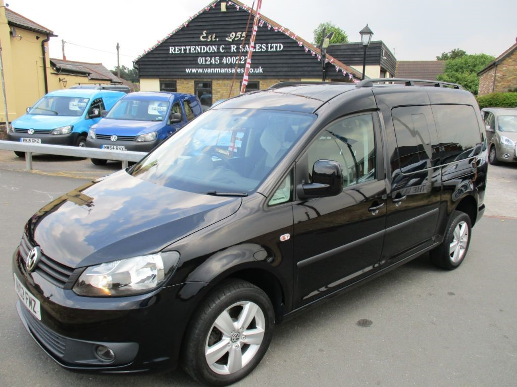 used VW Caddy Maxi C20 LIFE TDI AUTOMATIC Diesel MPV WAV * Only 42K Miles * in Chelmsford