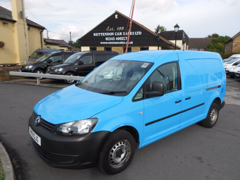 used VW Caddy Maxi C20 TDI Diesel Van * Only 46K Miles * in Chelmsford