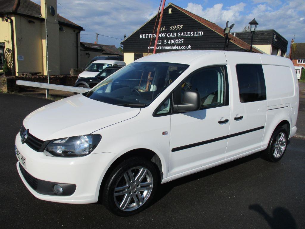 used VW Caddy Maxi C20 TDI KOMBI Crew Van Automatic Diesel Van * Only 40K Miles * NO VAT in Chelmsford