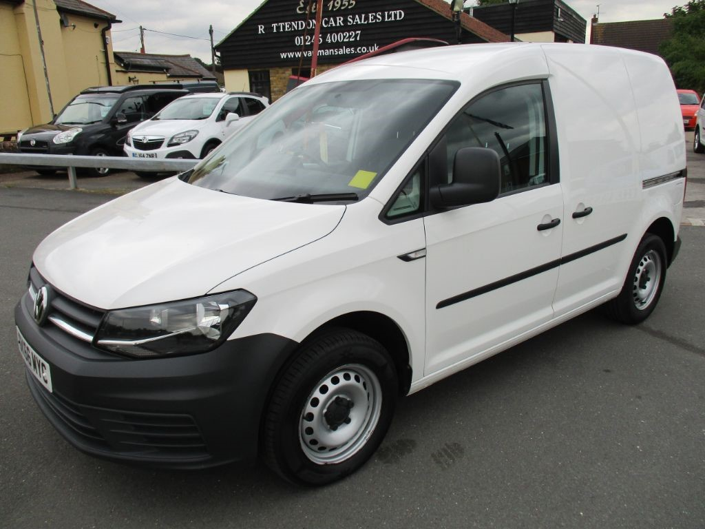 used VW Caddy C20 TDI STARTLINE BLUEMOTION * ONLY 30,000 MILES * in Chelmsford