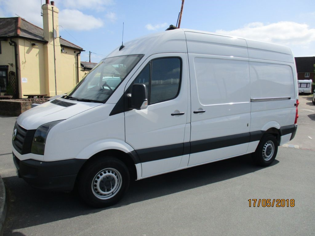 used VW Crafter CR35 TDI P/V H/R BLUEMOTION TECHNOLOGY in Chelmsford