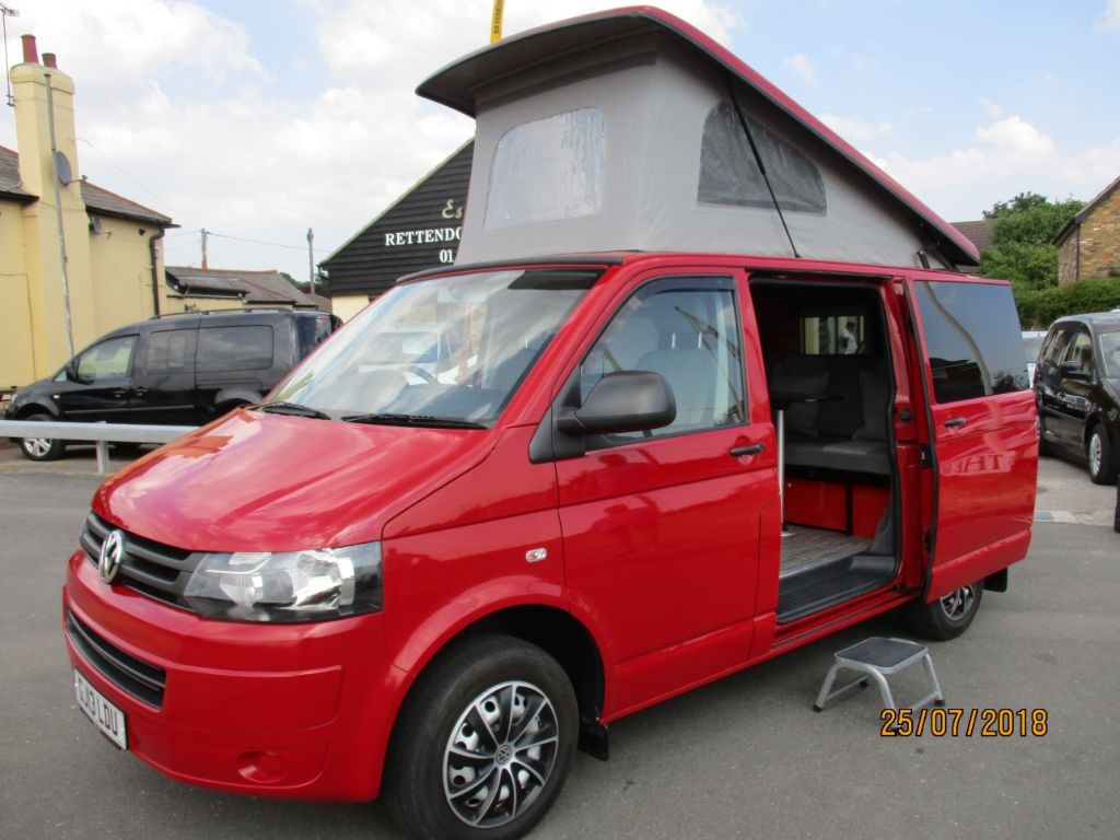 used VW Transporter T30 SE TDI Campervan Motorhome Conversion * Only 15,000 Miles * in Chelmsford