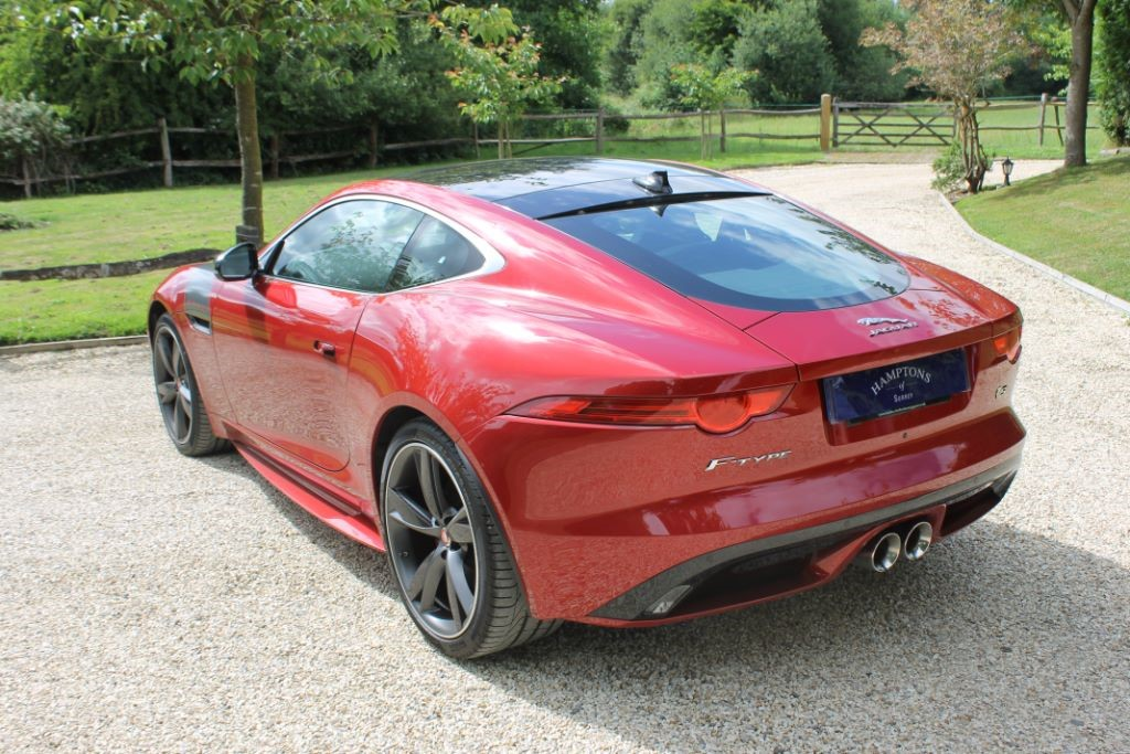 used red jaguar f type for sale surrey. Black Bedroom Furniture Sets. Home Design Ideas