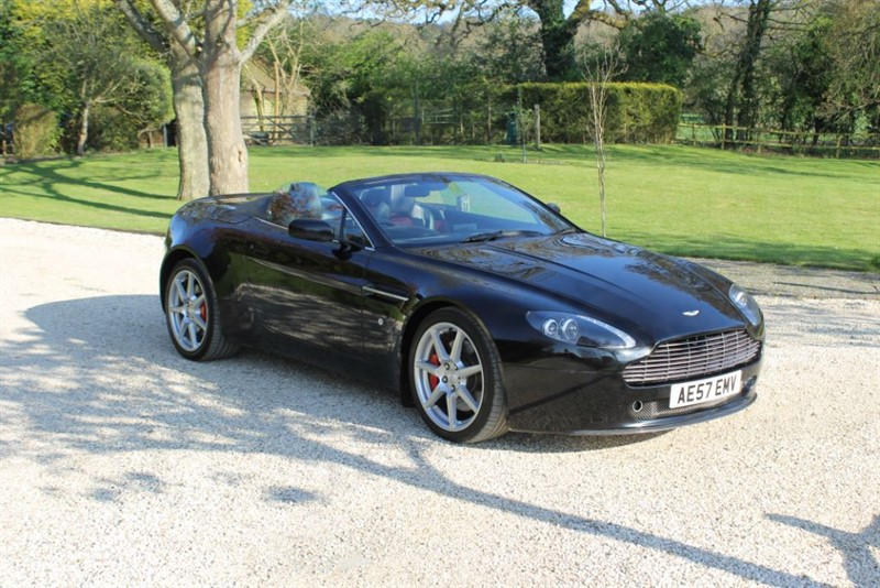 used Aston Martin Vantage V8 ROADSTER in surrey