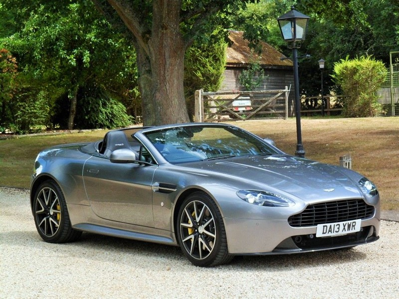 used Aston Martin Vantage S in surrey