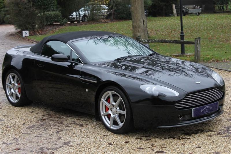 used Aston Martin Vantage V8 ROADSTER in surrey
