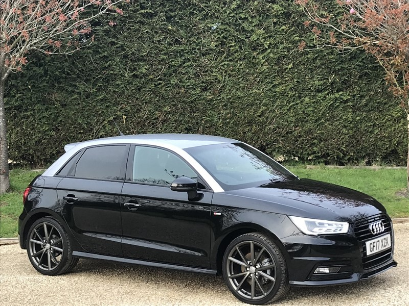 used Audi A1 SPORTBACK TFSI S LINE BLACK EDITION in surrey