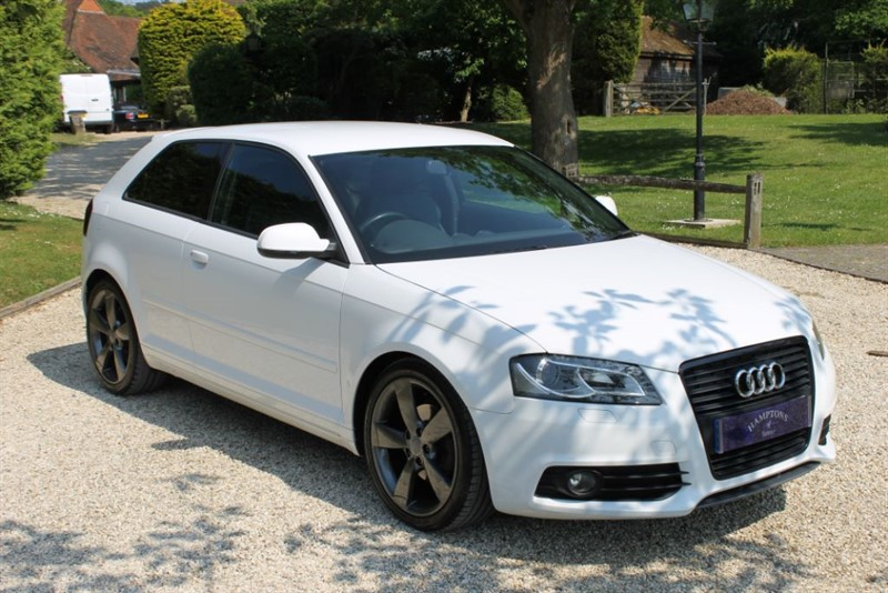 used Audi A3 TDI S LINE SPECIAL EDITION in surrey