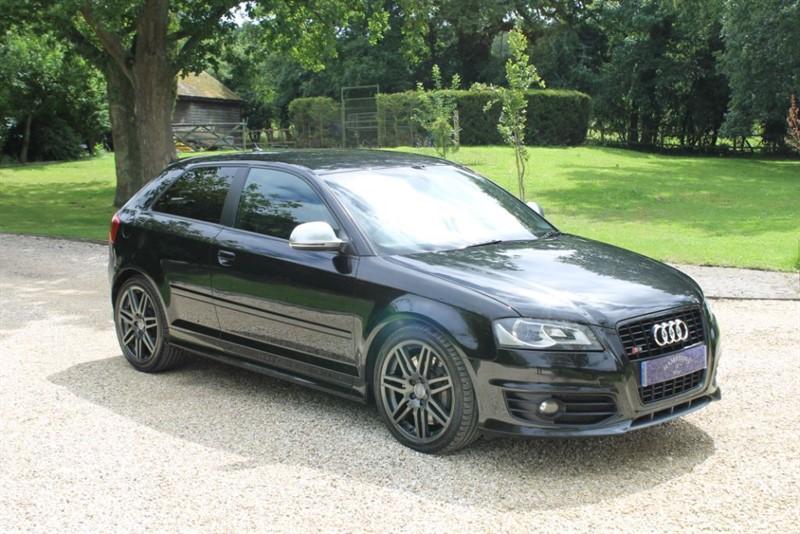 used Audi A3 S3 TFSI QUATTRO S LINE BLACK EDITION in surrey