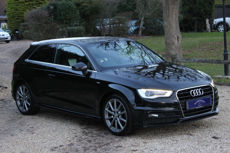used Audi A3 TFSI S LINE NAV in surrey