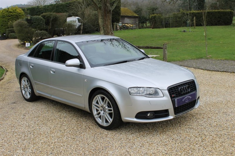 used Audi A4 T S LINE SPECIAL EDITION in surrey
