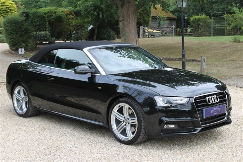 used Audi A5 TFSI QUATTRO S LINE SPECIAL EDITION in surrey