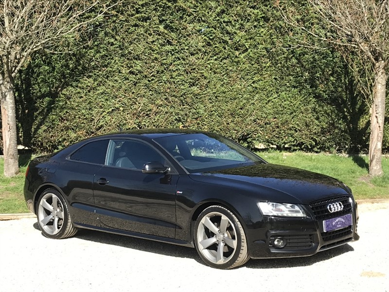 used Audi A5 TDI S LINE BLACK EDITION in surrey