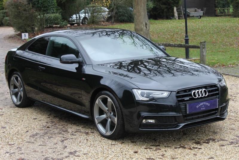 used Audi A5 TDI QUATTRO S LINE BLACK EDITION in surrey