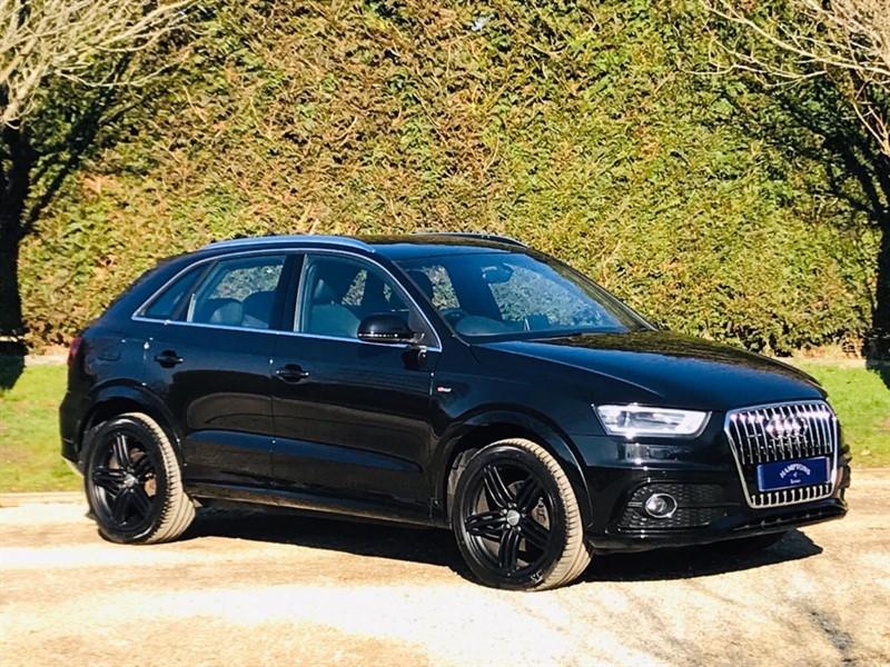 used Audi Q3 TFSI QUATTRO S LINE in surrey