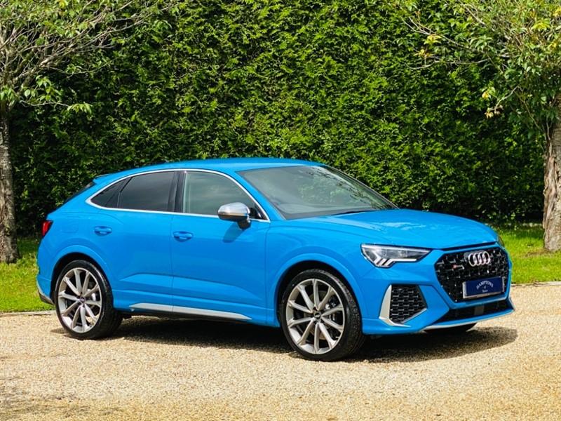 used Audi Q3 RS SPORTBACK TFSI QUATTRO in surrey