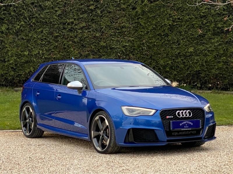 used Audi RS3 SPORTBACK QUATTRO NAV in surrey