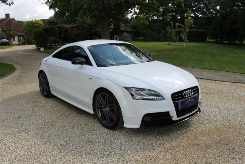used Audi TT TFSI BLACK EDITION in surrey