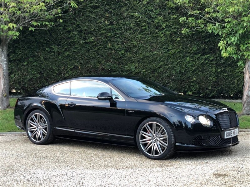 used Bentley Continental GT SPEED in surrey