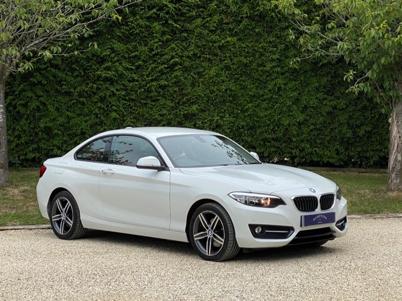 used BMW 220d SPORT in surrey