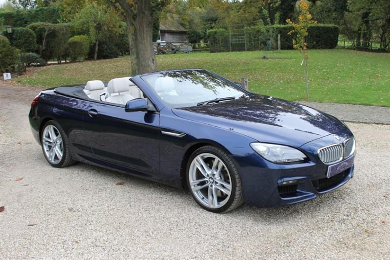 used BMW 650i M SPORT in surrey