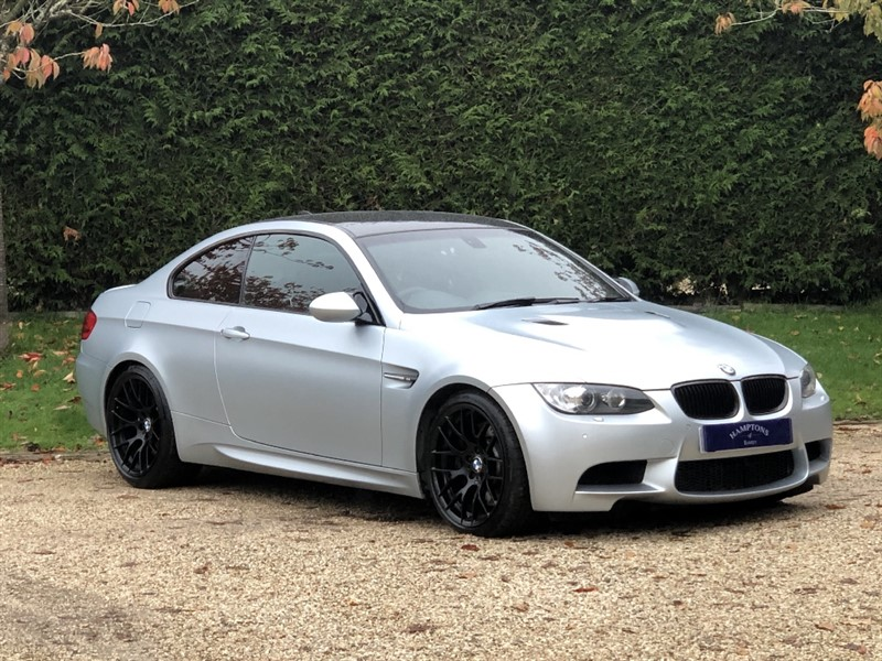 used BMW M3 FROZEN SILVER EDITION in surrey