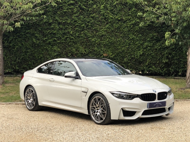 used BMW M4 BiTurbo Competition DCT in surrey