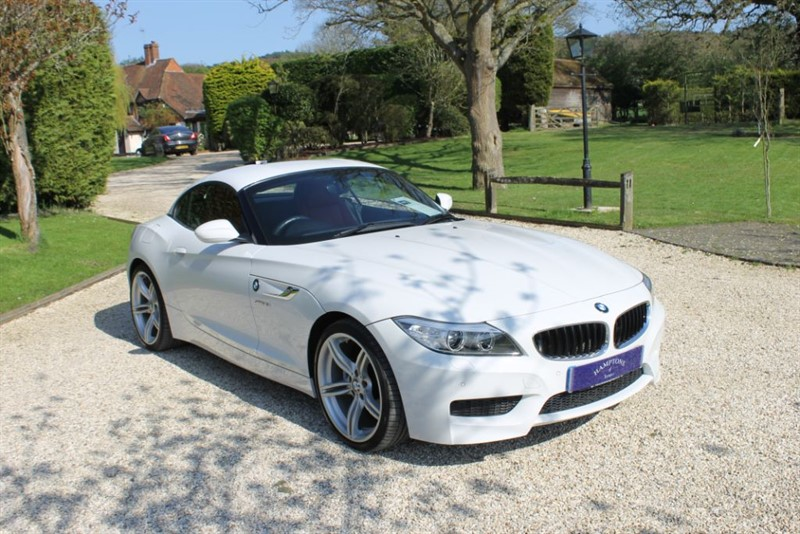 used BMW Z4 SDRIVE18I M SPORT ROADSTER in surrey