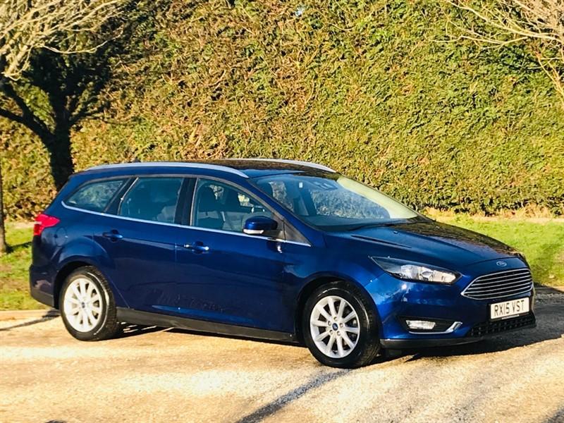 used Ford Focus TITANIUM in surrey