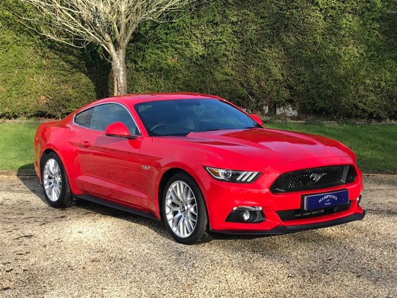used Ford Mustang GT in surrey