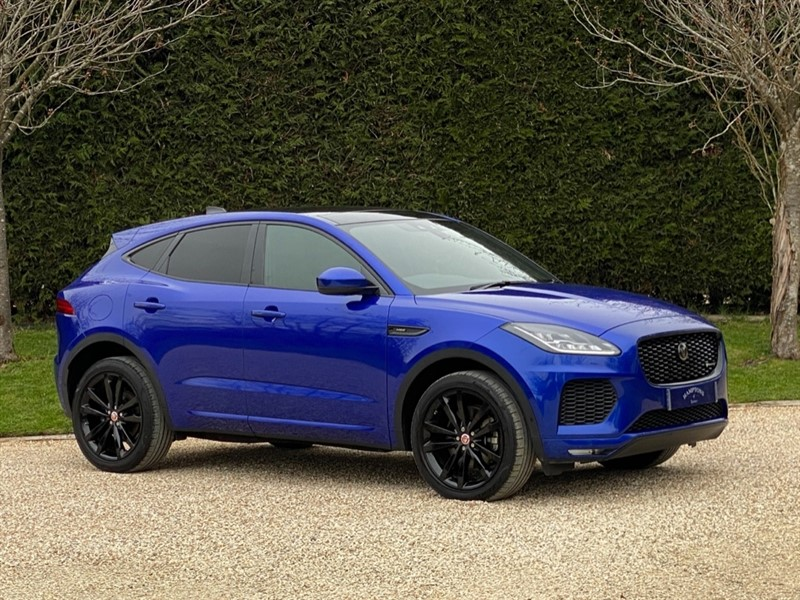 used Jaguar E-Pace R-DYNAMIC HSE in surrey