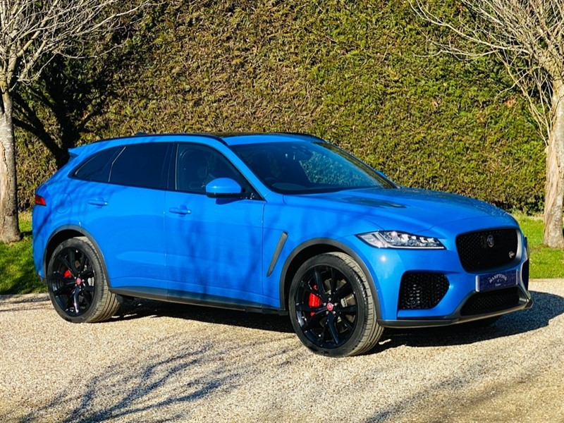 used Jaguar F-Pace SVR AWD in surrey