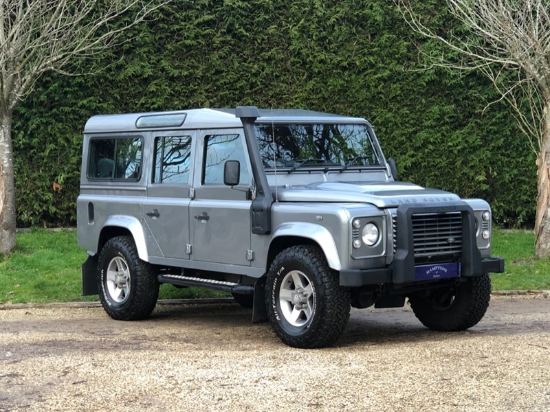 used Land Rover Defender TD 110 XS UTILITY WAGON in surrey